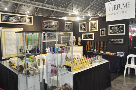 The Perfume Workshop Booth